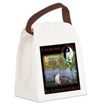 WMC Calming by Consistency Canvas Lunch Bag