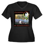 WMC Calming by Consistency Plus Size T-Shirt