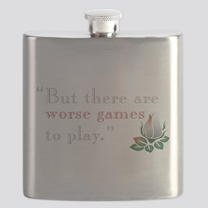 Worse Games Flask