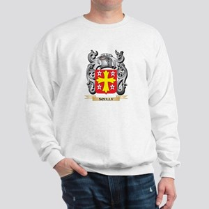 Scully Coat of Arms - Family Crest Sweatshirt