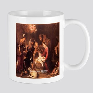 Adoration of the Shepherds 1668 Mug