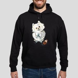 Pomeranian Boo Hoodie