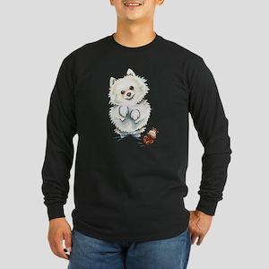 Pomeranian Boo Long Sleeve T-Shirt