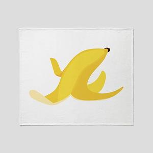 Banana Peel Throw Blanket