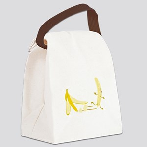 Banana Escape Canvas Lunch Bag