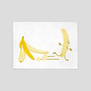 Banana Escape 5'x7'Area Rug