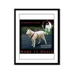 WMC Connectio Make It Daily Framed Panel Print