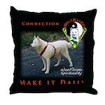 WMC Connectio Make It Daily Throw Pillow