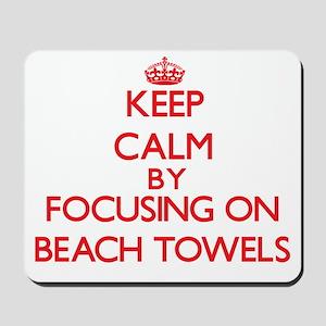 Beach Towels Mousepad