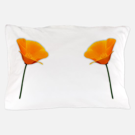 California Poppy Pillow Case