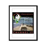 WMC Curiosity Channel IT Framed Panel Print