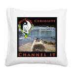 WMC Curiosity Channel IT Square Canvas Pillow
