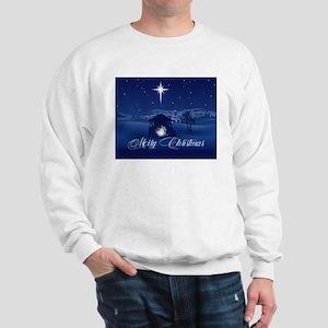 Merry Christmas Nativity Sweatshirt