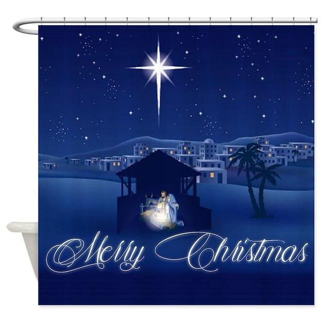 Christmas Shower Curtains | CafePress