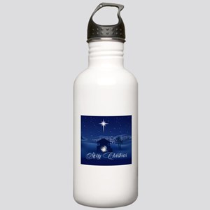 Merry Christmas Nativi Stainless Water Bottle 1.0L