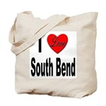 I Love South Bend Tote Bag