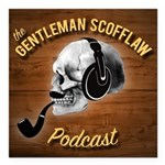 "Gentleman Scofflaw Square Car Magnet 3"" X 3&q"