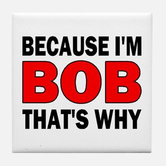 I'M BOB Tile Coaster
