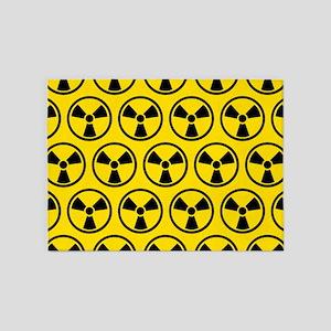 Radioactive Pattern 5'x7'Area Rug