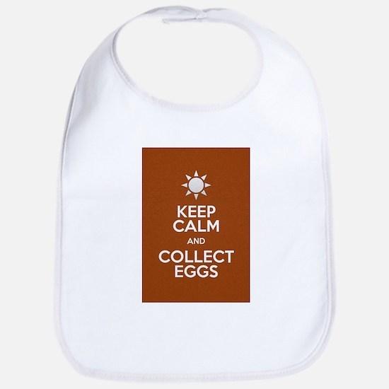 Keep Calm Collect Eggs Bib