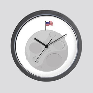 Moon Landing Wall Clock