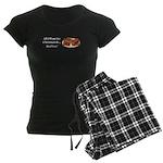 Christmas Waffles Women's Dark Pajamas
