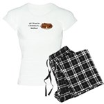 Christmas Waffles Women's Light Pajamas