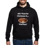 Christmas Waffles Hoodie (dark)