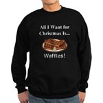Christmas Waffles Sweatshirt (dark)