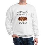 Christmas Waffles Sweatshirt