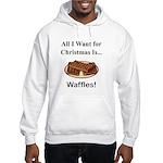 Christmas Waffles Hooded Sweatshirt