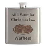 Christmas Waffles Flask