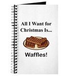 Christmas Waffles Journal