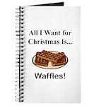 Christmas Waffles Journal