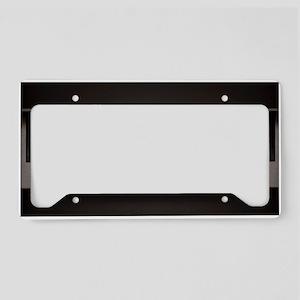 Piano License Plate Holder