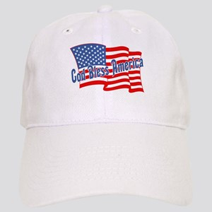GOD BLESS AMERICA July 4th Cap