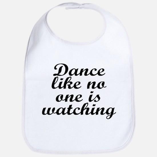 Dance like no one - Bib