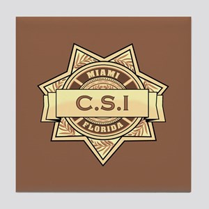 CSI Miami Tile Coaster