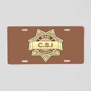 CSI Miami Aluminum License Plate