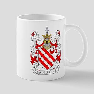 Anson Coat of Arms Mugs