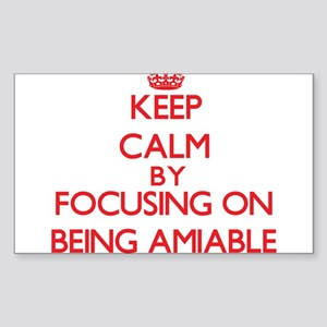 Being Amiable Sticker