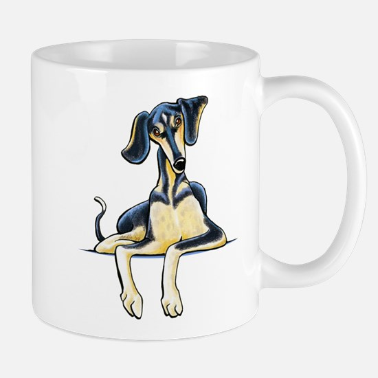 Smooth Saluki Emil Mugs