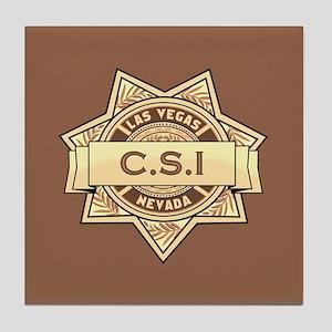 CSI Las Vegas Tile Coaster