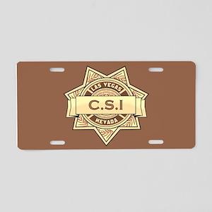 CSI Las Vegas Aluminum License Plate