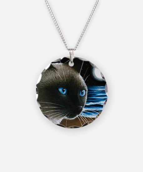 cat 396 siamese Necklace