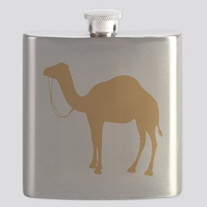 Brown Camel Flask