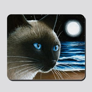cat 396 siamese Mousepad
