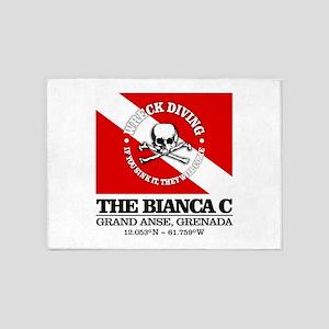 Bianca C 5'x7'Area Rug