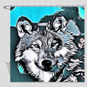 Wolf 2014-0983 Shower Curtain