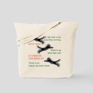 Insane Cat Tote Bag